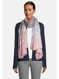 Basic-Schal mit Blumenprint