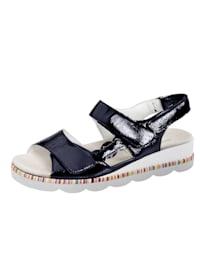 Sandaler med luftpolster i sålen