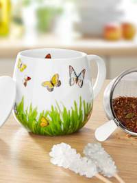 """Hrnek na čaj """"Motýle"""""""