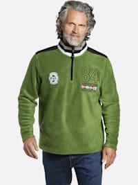 Jan Vanderstorm Fleece-Sweatshirt TOMAS