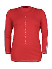 Shirt mit Glitzerdetails Glitzereffekt