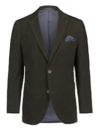 Veste de costume en matière finement structurée