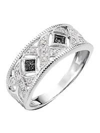 Bague sertie de diamants