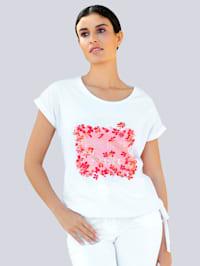T-shirt à motif imprimé exclusif