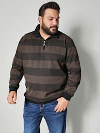 Sweatshirt in prachtige look