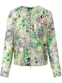 Jacke mit exotischem Allover-Print