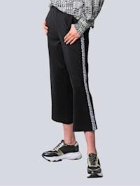 Broek in aantrekkelijk culottemodel
