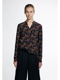 Langarm Bluse MODERN CLASSIC bedruckt