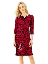 Robe à imprimé léopard