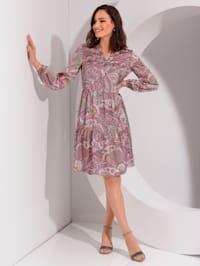Klänning med paisleymönster