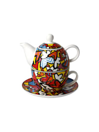 Tea for One Romero Britto - All We Need is Love