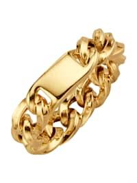 Ketten-Ring in Gelbgold 375 in Gelbgold 375