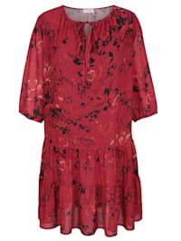 Šaty s kvetinovou potlačou