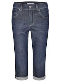 Jeans ,Capri TU' mit Beinumschlag