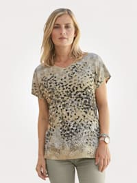 Top with spot print
