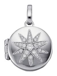 Medaljonghänge med stjärna