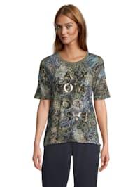 Casual-Shirt mit Animalprint