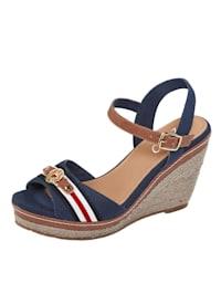 Sandaaltje in maritieme stijl