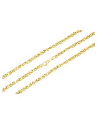 Königskette in Silber 925, vergoldet