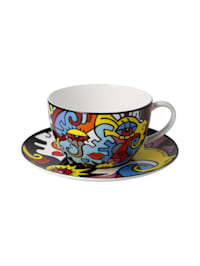 Goebel Tee-/ Cappuccinotasse Billy the Artist - Together
