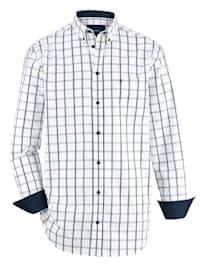 Chemise à poche poitrine
