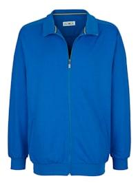 Sweat bunda so vsadenými vreckami