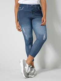 Legging in jeanslook