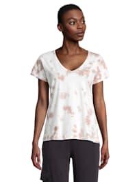 Casual-Shirt mit V-Ausschnitt