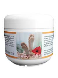 Crème pour les pieds pour une hydratation intense