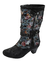 Stiefel aus changierendem Softmaterial