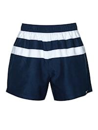 Koupací šortky ve sportovním vzhledu