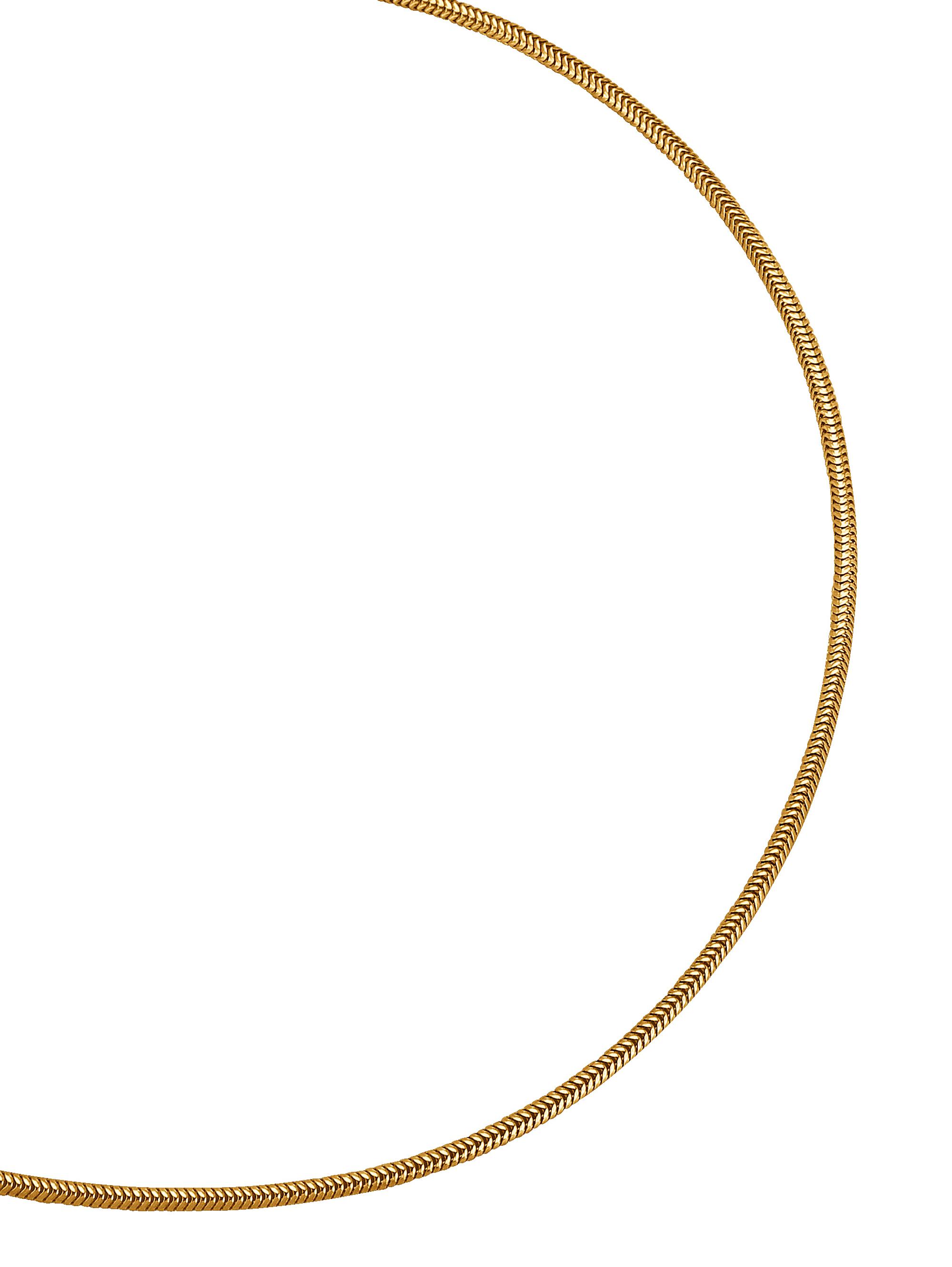Diemer Gold Schlangenkette in Gelbgold n078z