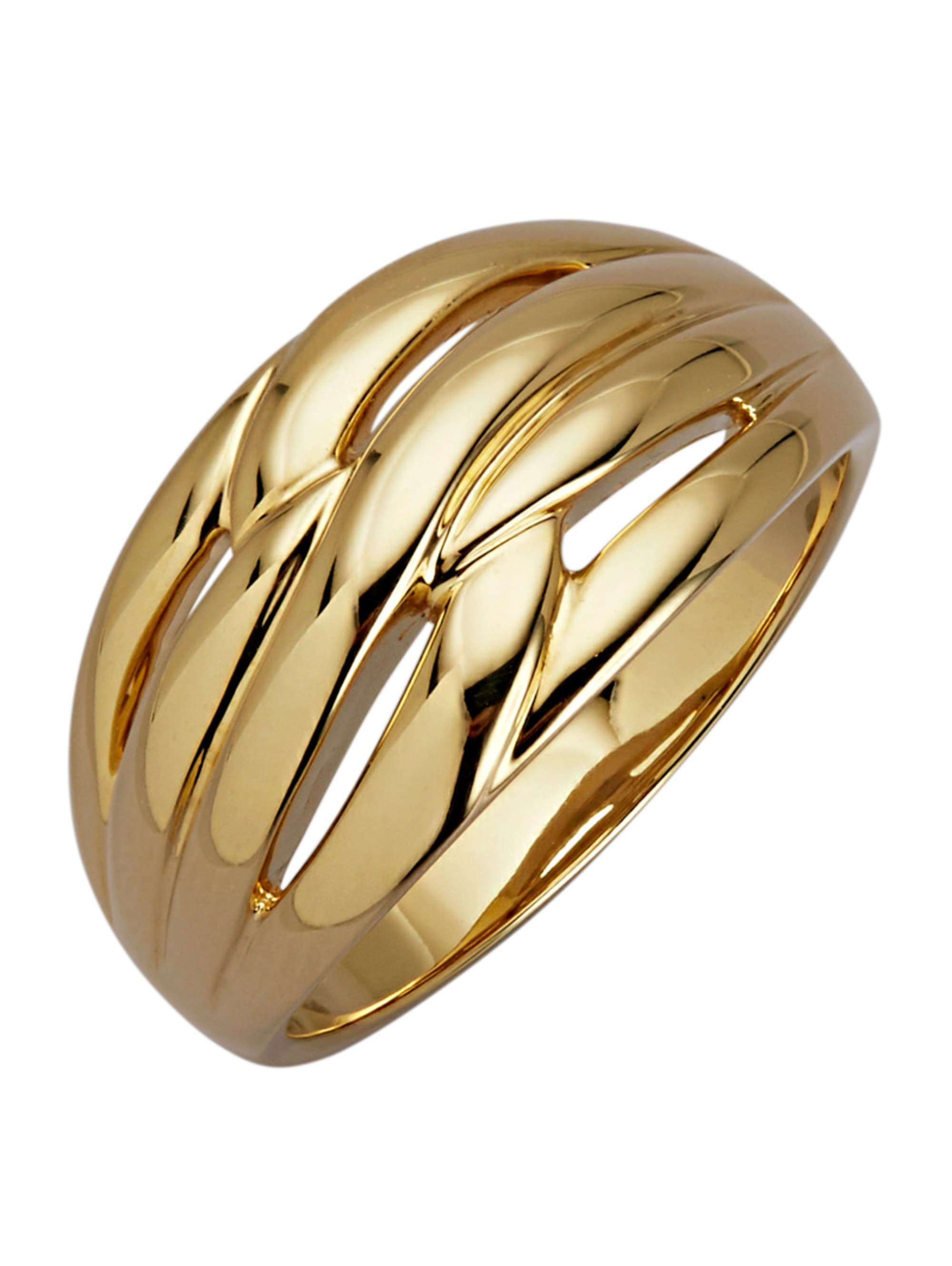 Diemer Gold Damenring in Gelbgold xzTUq