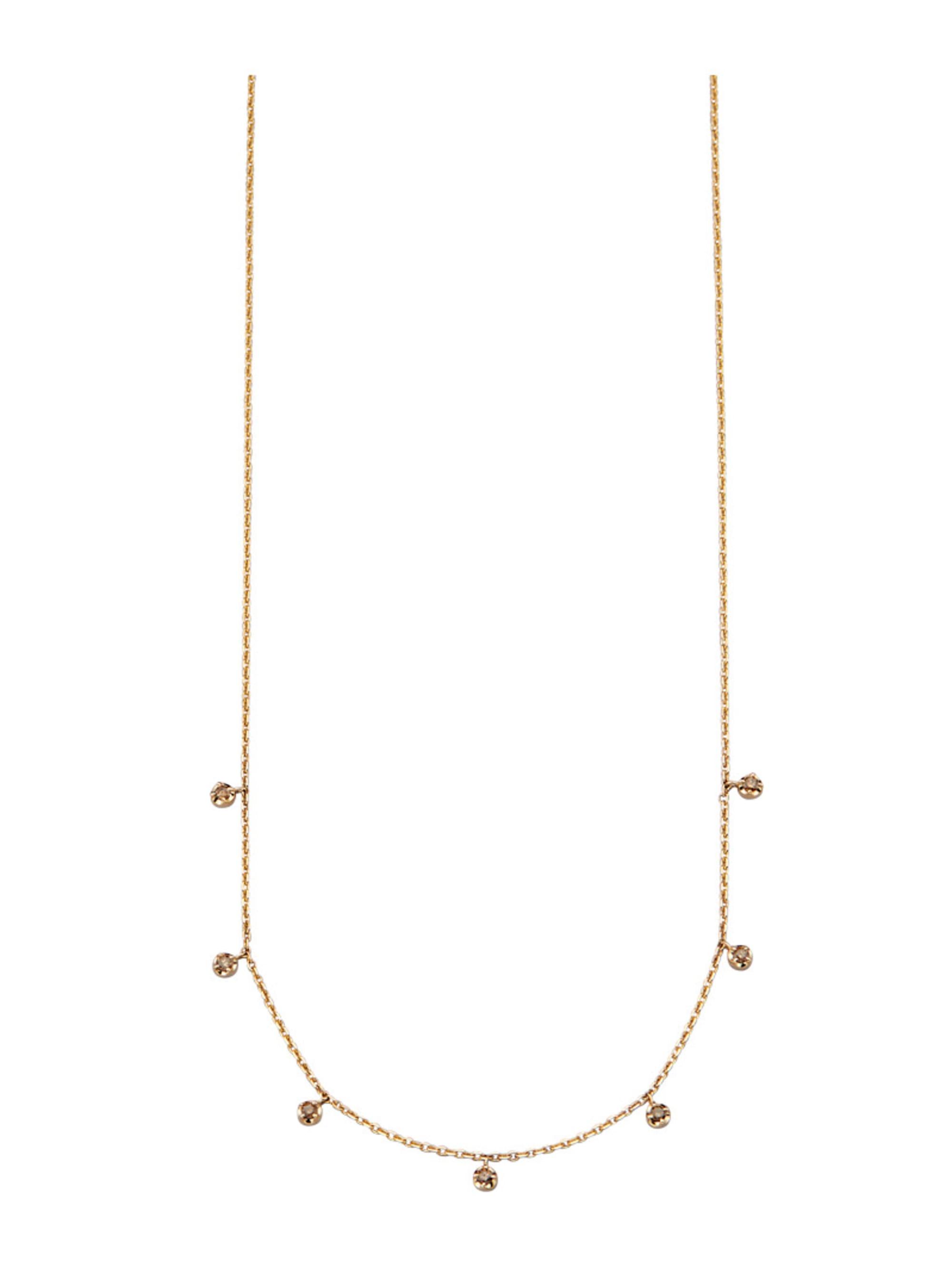 Diemer Diamant Collier mit Brillanten nG7e0