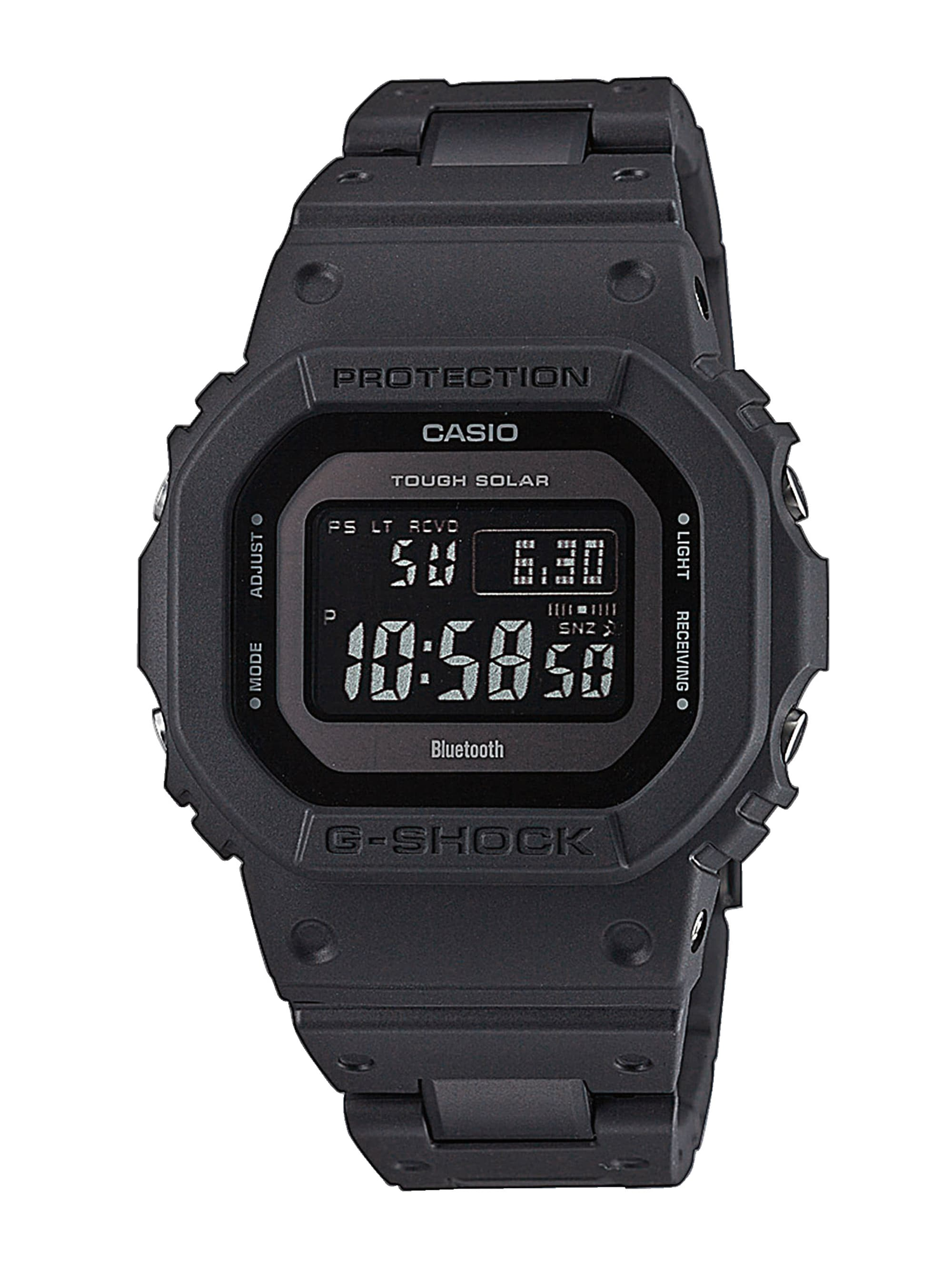 Casio Herren-Funk-Solar-Uhr-Chronograph GW-B5600BC-1BER ufZfD