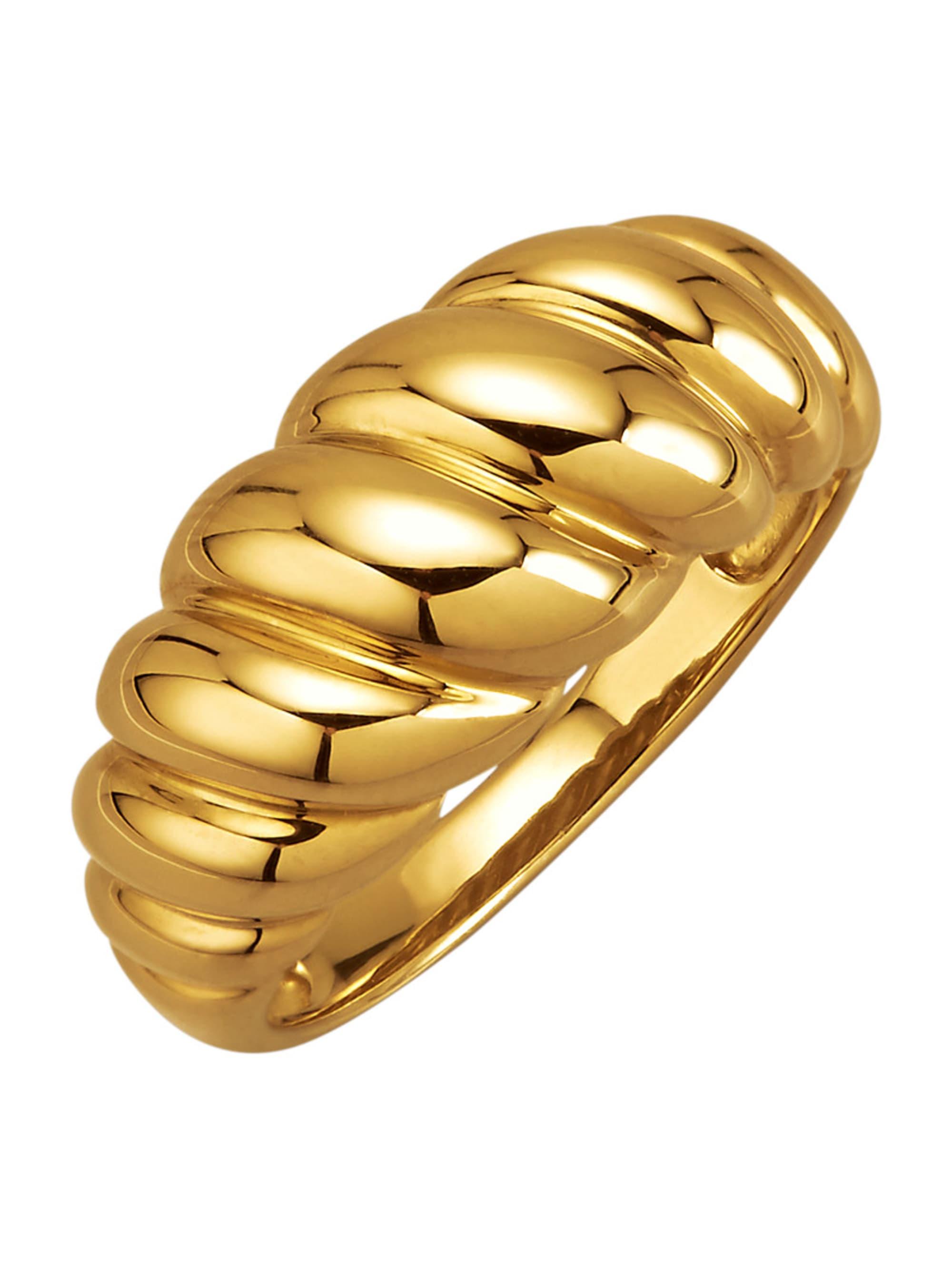 Damenring in Silber 925, vergoldet u0kMy