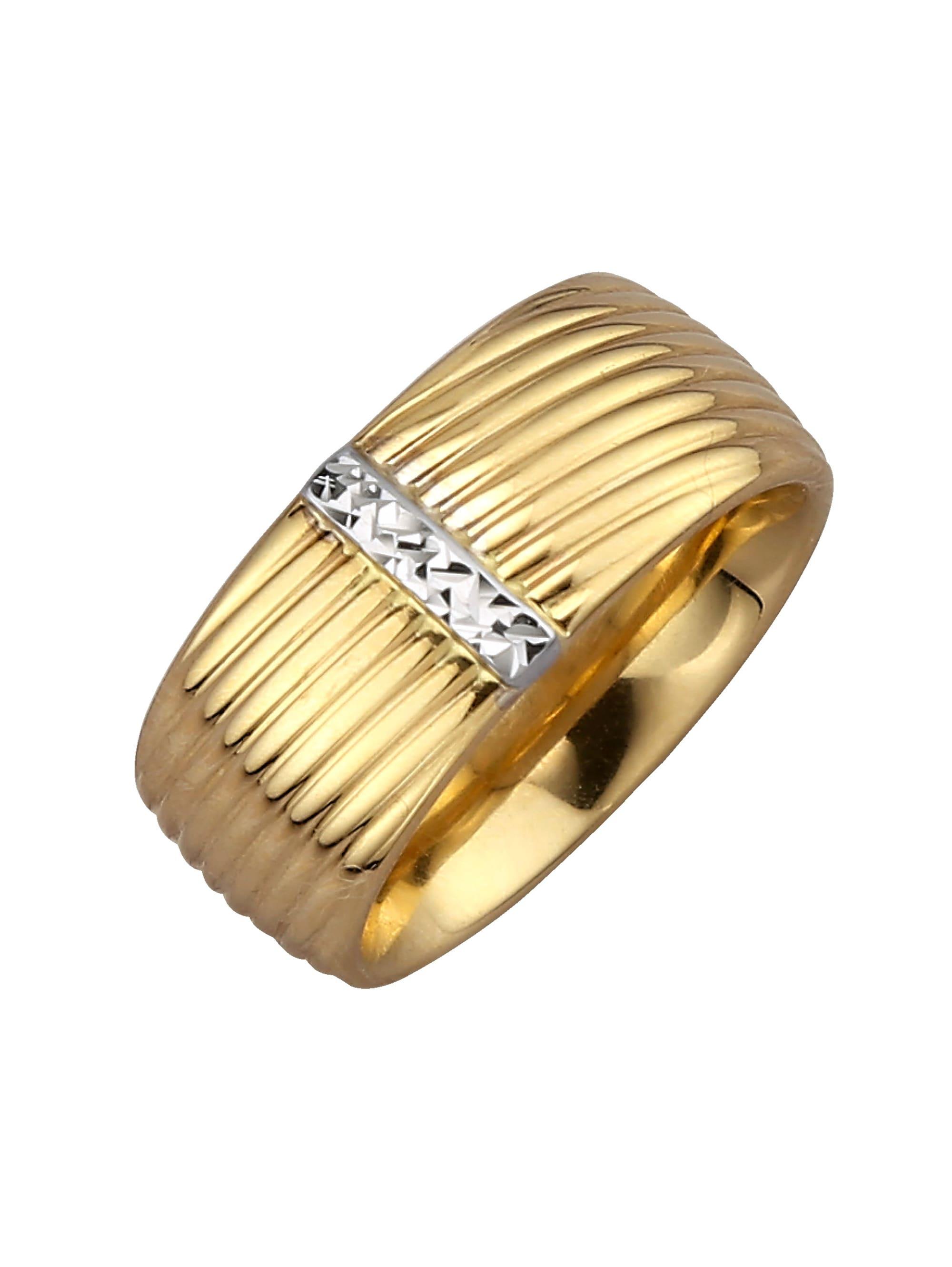 Damenring in Gelbgold 585 2u640