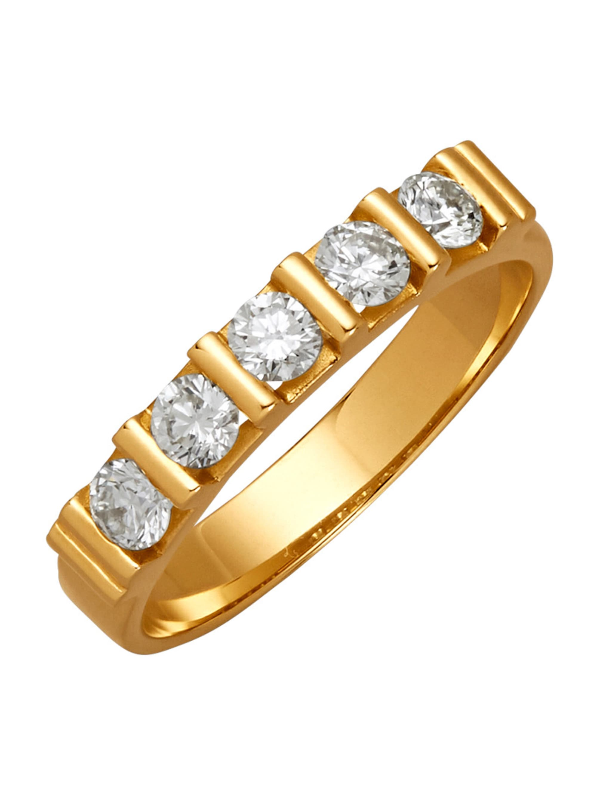 Diemer Diamant Damenring mit Brillanten HiQvX