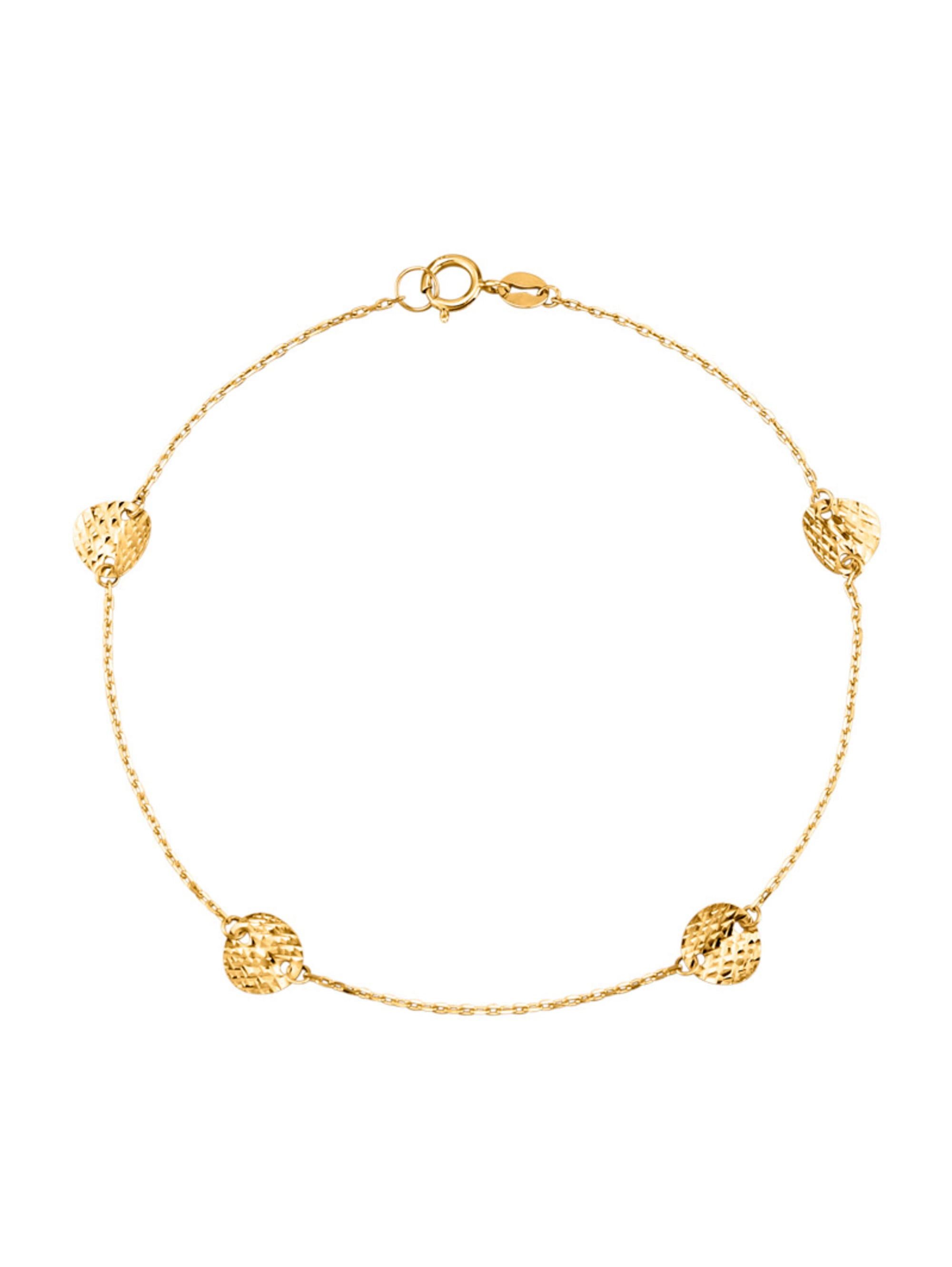 Armband in Gelbgold 375 0OXUC