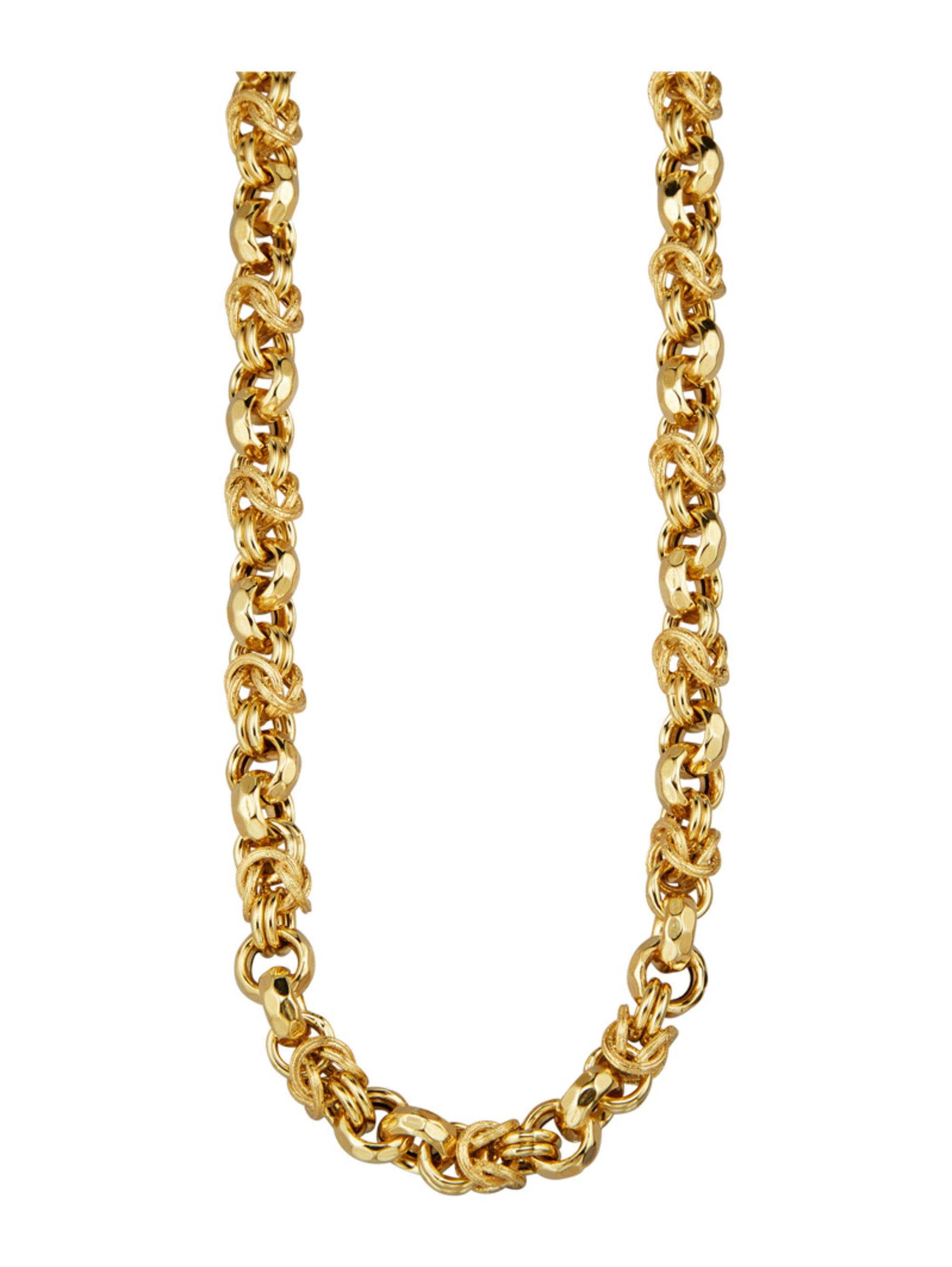 Diemer Gold Königskette in Gelbgold 585 pgcNI