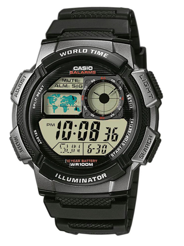 Casio Herrenuhr-Chronograph Collectioen Men AE-1000W-1BVEF uIPjs