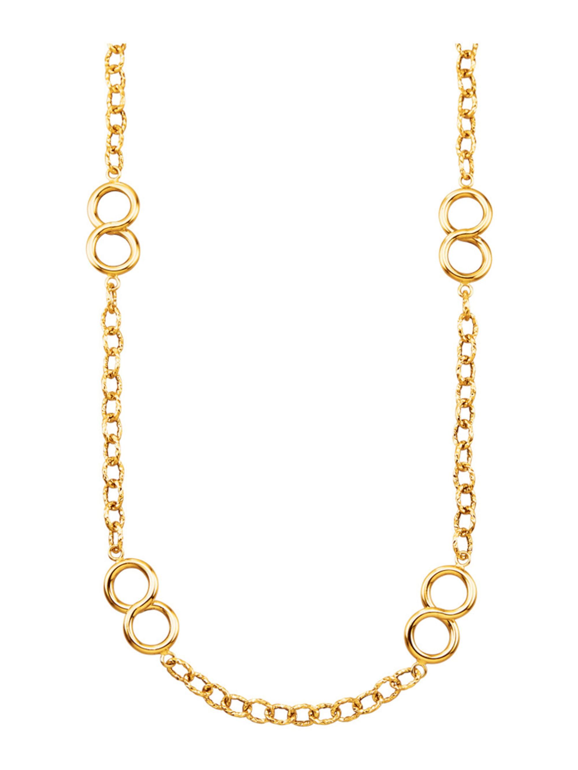 Diemer Gold Halskette in Gelbgold 585 p1RgK