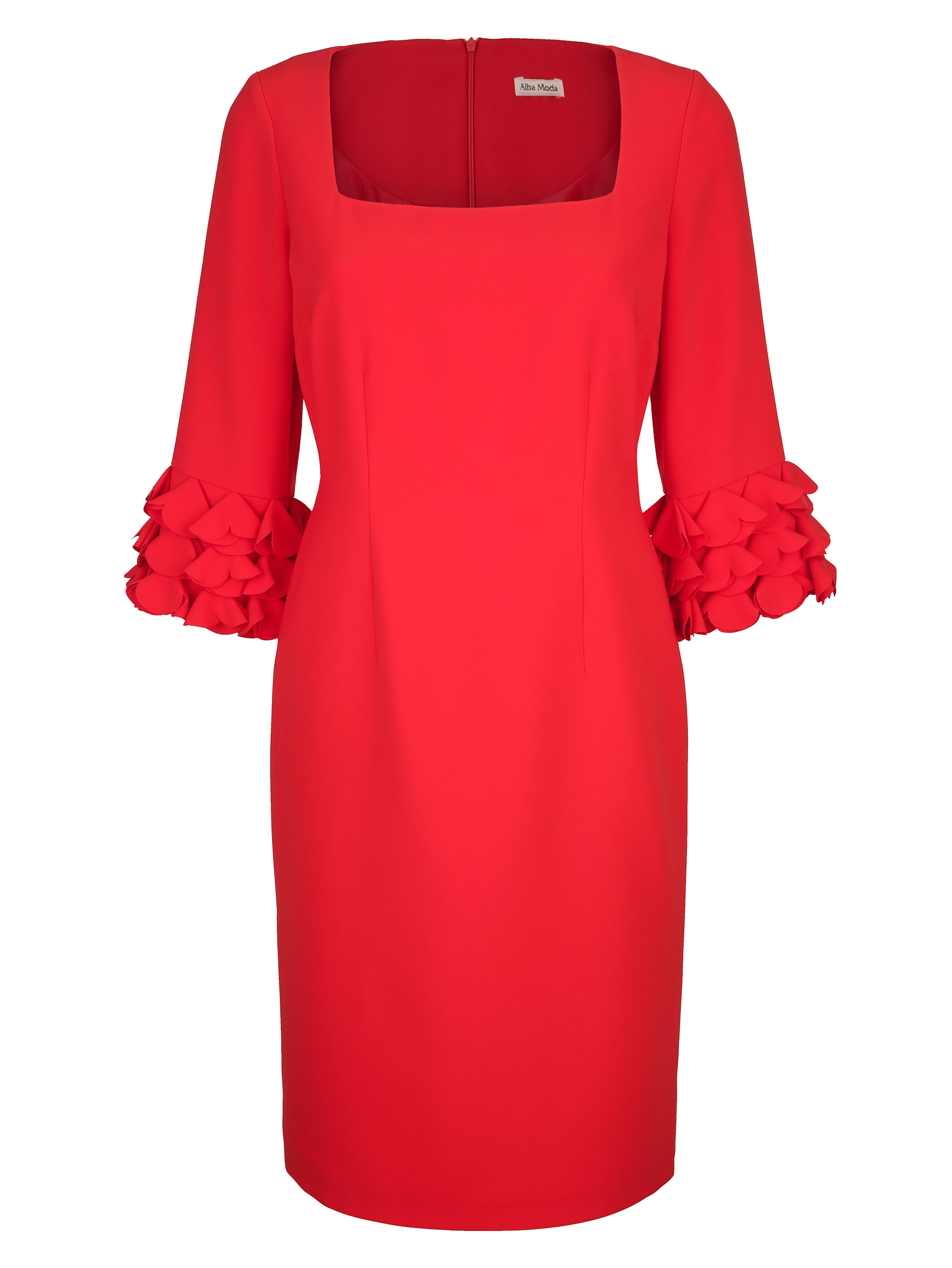 Alba Moda Kleid mit eleganten Details an den Ärmeln EJRIU NCSeu