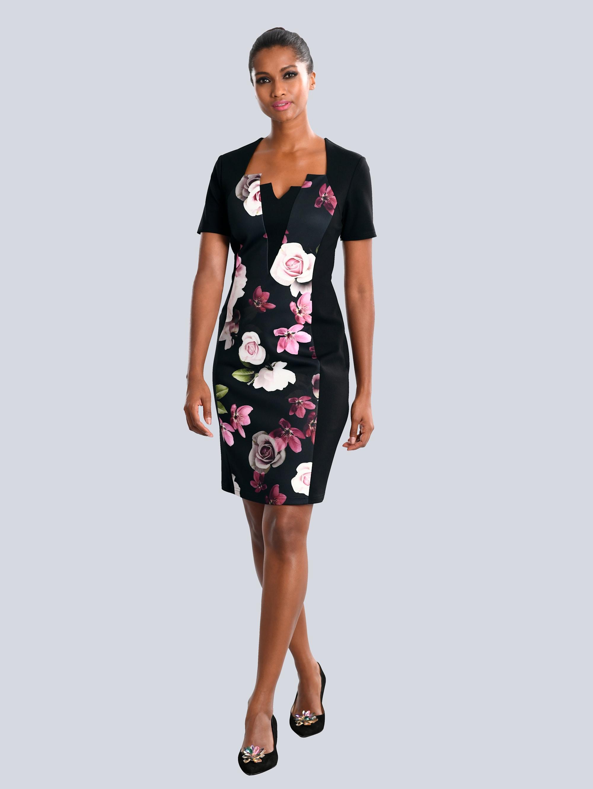 Alba Moda Kleid mit modischer Auschnittlösung UPQX1 JQZ0j