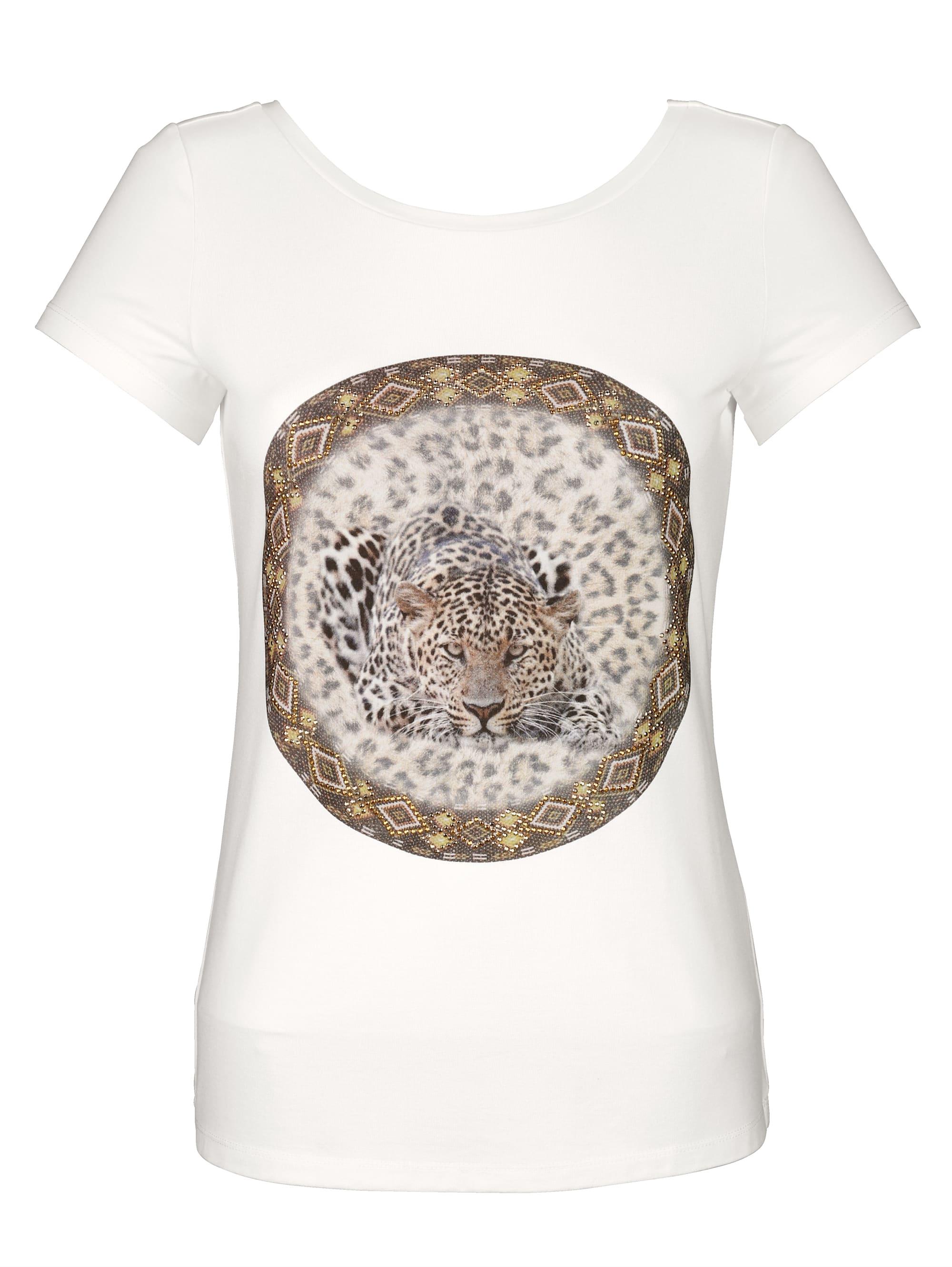 Alba Moda Shirt mit Ziersteinen kwEpN PD7ay