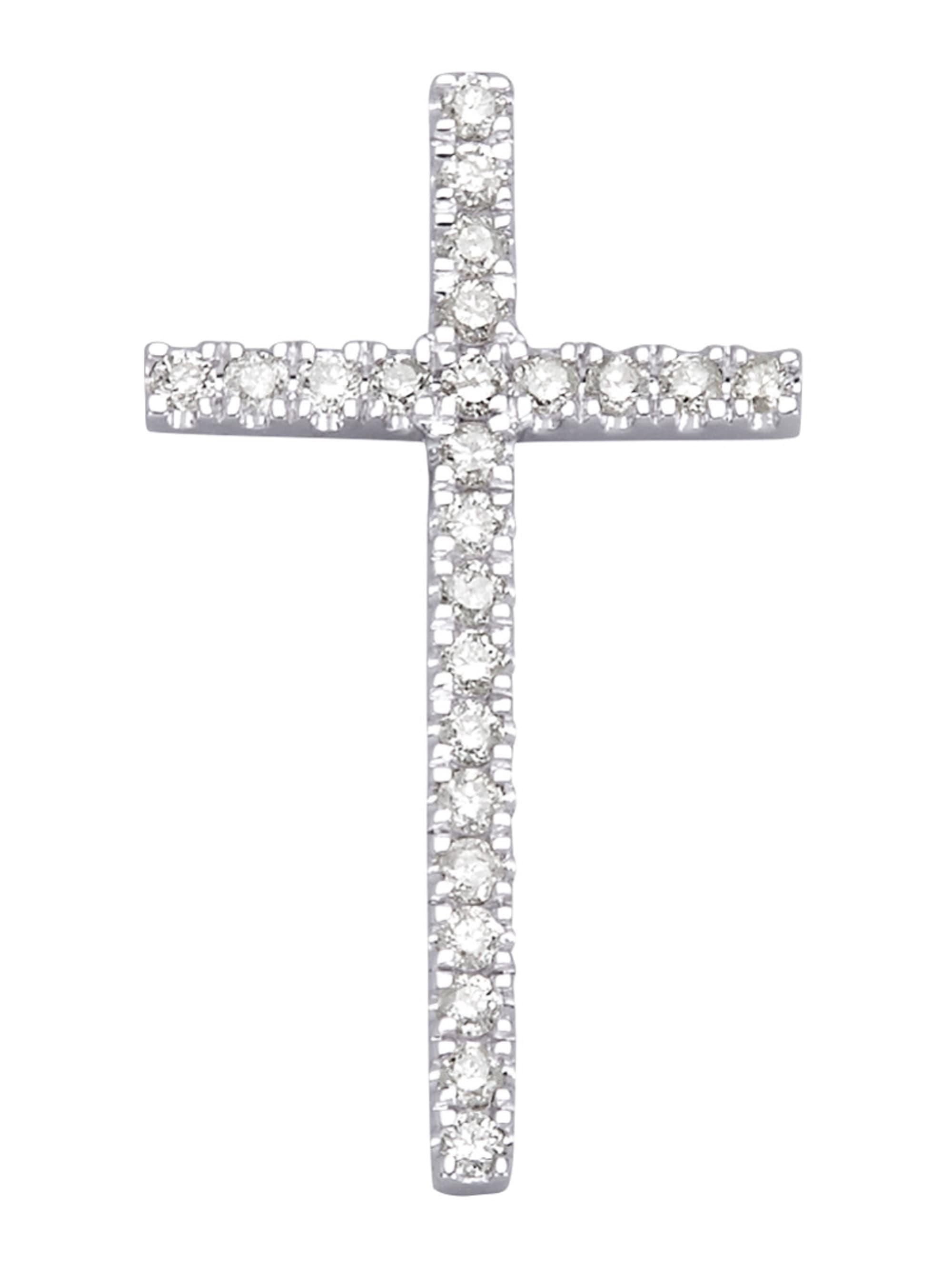 Kreuz-Anhänger mit Brillant tKAnQ