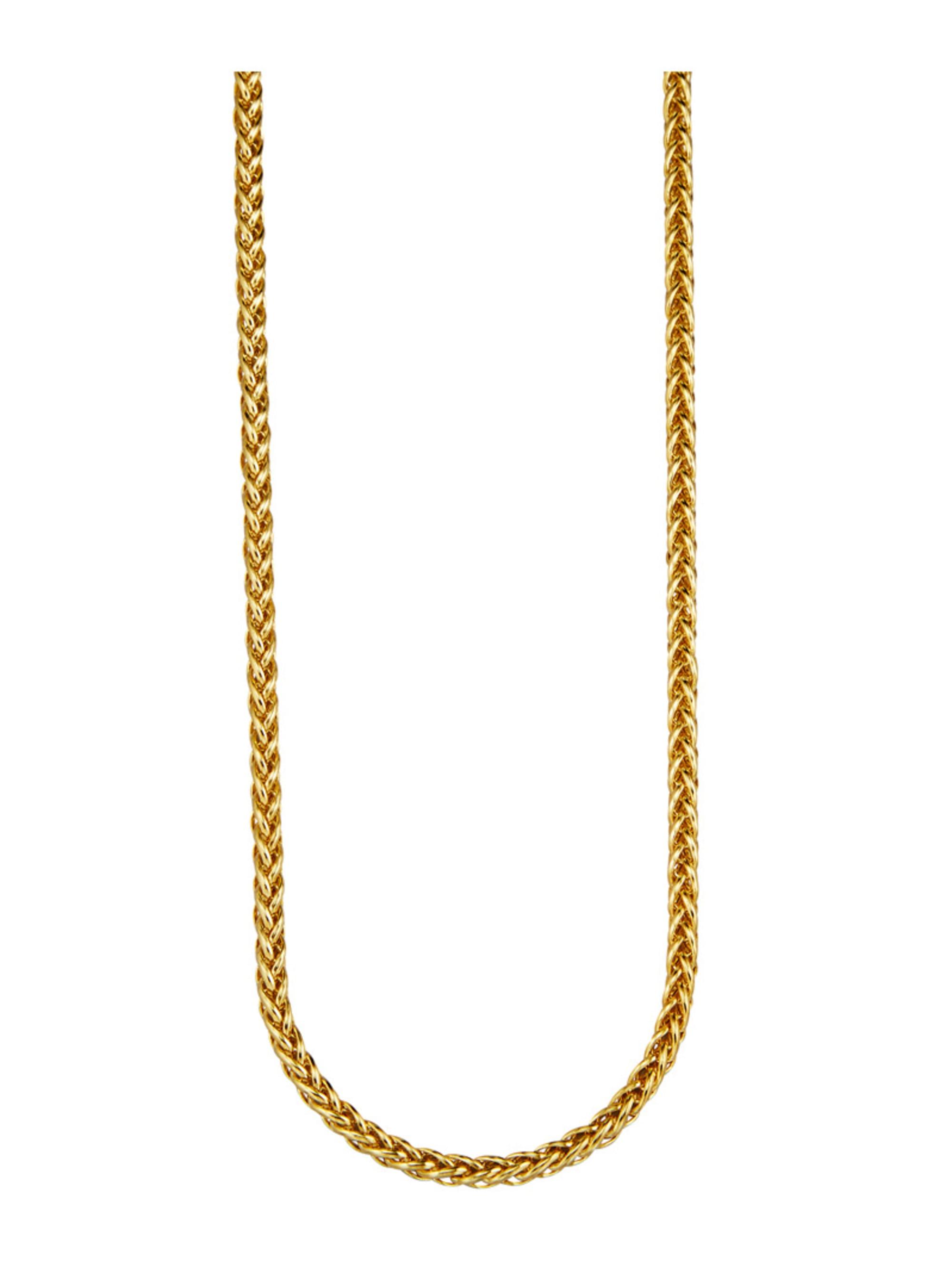 Diemer Gold Zopfkette in Gelbgold 585 ZCy24
