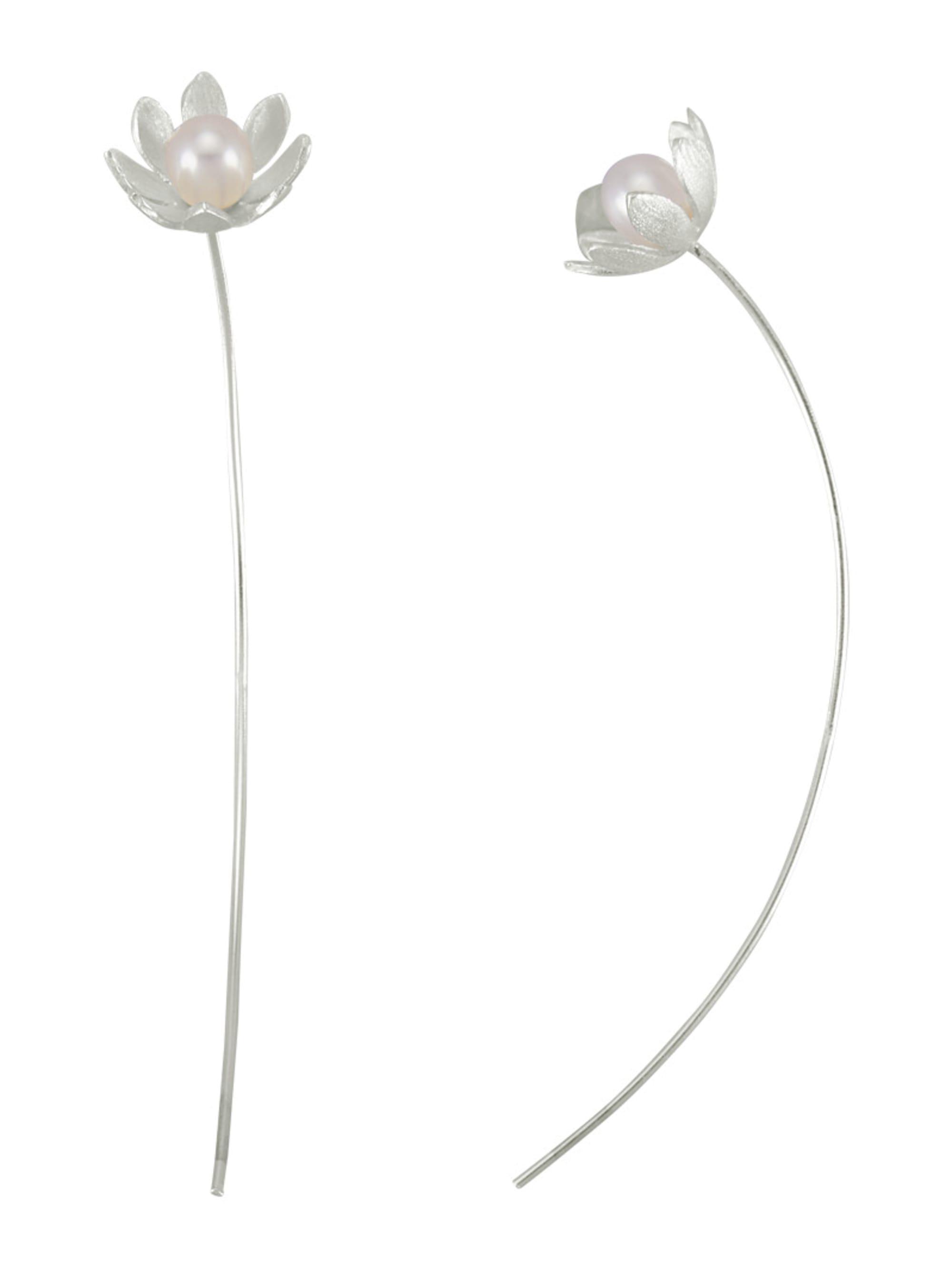 AMY VERMONT Ohrringe mit Süßwasser-Zuchtperlen Jz5Nc