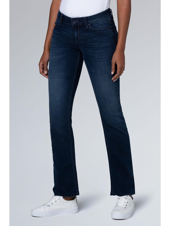SOCCX Boot Cut Jeans CO:LE mit Used-Optik, Comfort Fit NdIgj eVwKC
