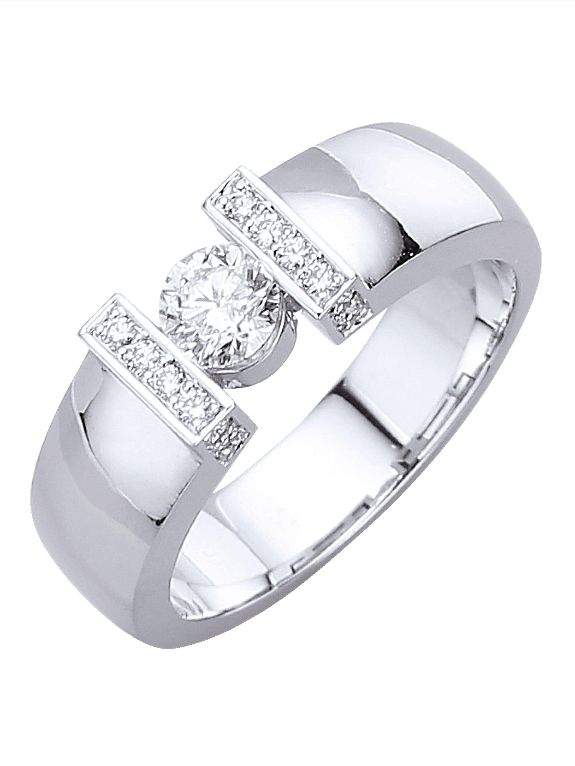 Diemer Diamant Damenring mit Brillanten KZ3zP